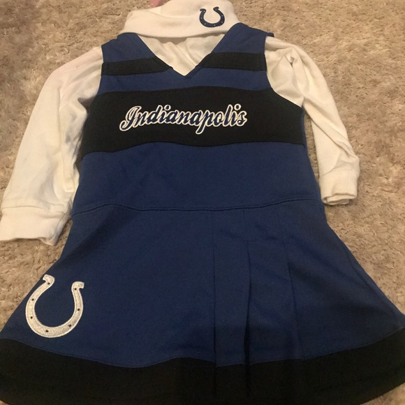 Indianapolis Colts cheerleader outfit & Costumes | Indianapolis Colts Cheerleader Outfit | Poshmark
